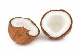 Скраб для чувствительной кожи из кокоса