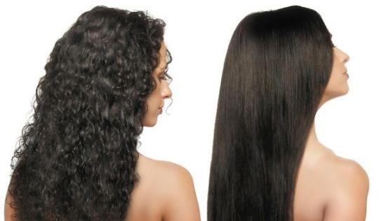 Экранирование волос: фото до и после