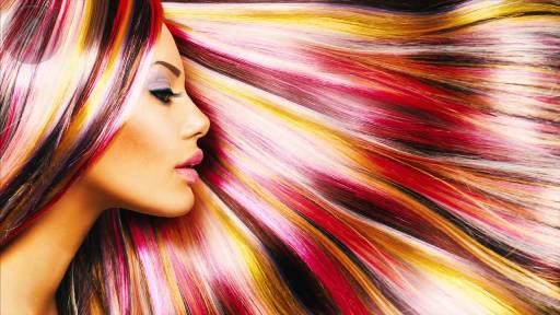 смыв краски с волос