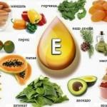 Польза витамина Е. Витамин Е для волос.