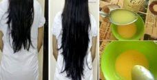 Этот домашний бальзам обеспечит очень быстрый рост волос!